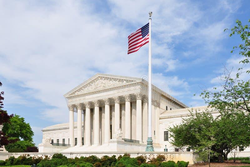 Förenta staternahögsta domstolen royaltyfri bild