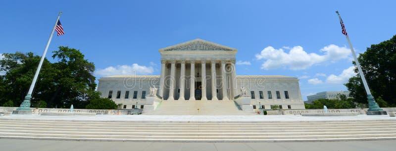 Förenta staternahögsta domstolen i Washington DC, USA arkivbilder