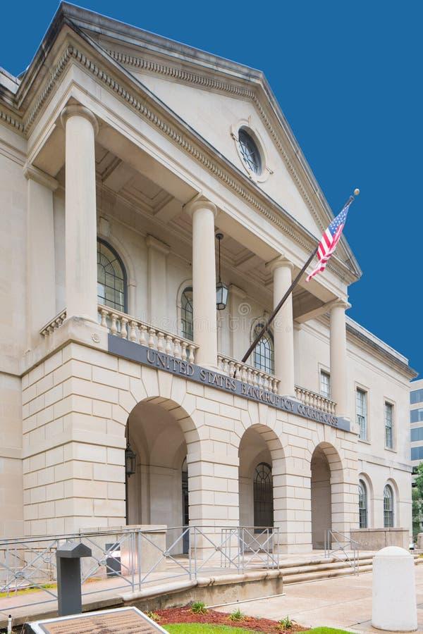 Förenta staternakonkursdomstolsbyggnad Tallahassee FL arkivfoto