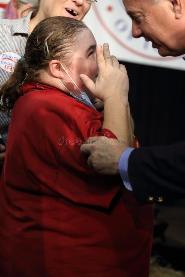 Förenta staternasenator från South Carolina, Lindsey Graham royaltyfria foton