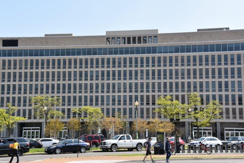 Förenta staternautbildningsdepartementet i Washington, DC royaltyfria foton