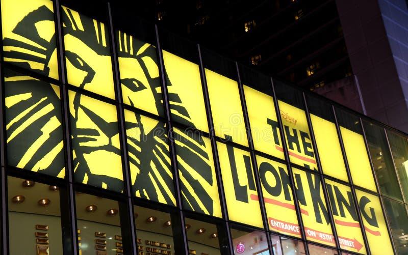 Broadway komedi royaltyfri bild