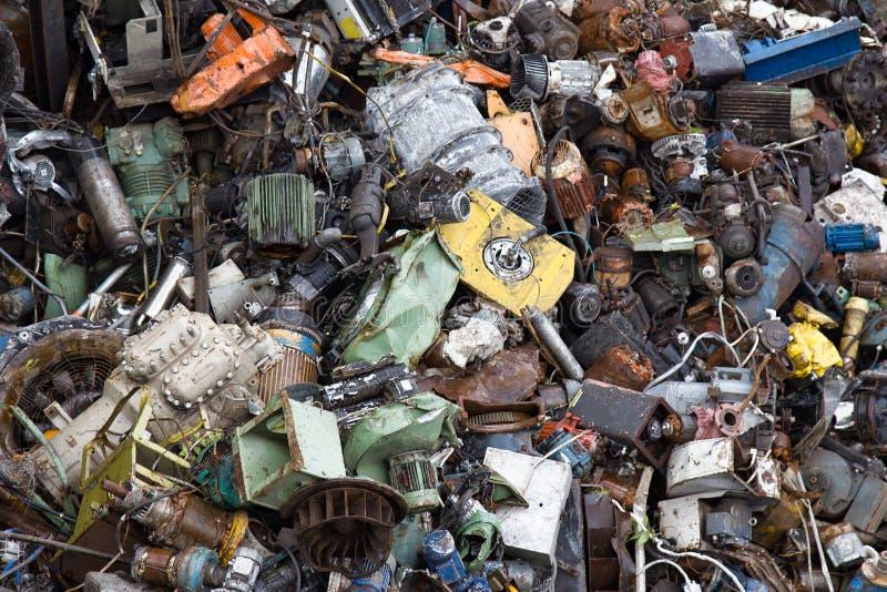 Företag för samling av restmetall, electromotors fotografering för bildbyråer