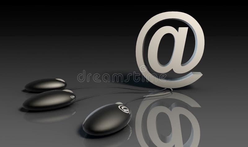 företags account royaltyfri illustrationer