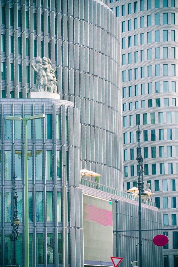 företags byggnader royaltyfri foto