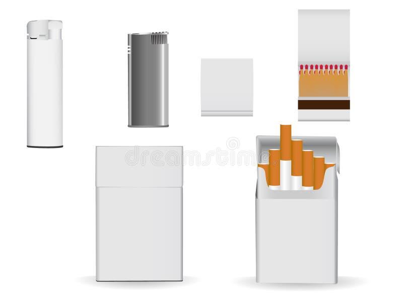företags emballage royaltyfri illustrationer