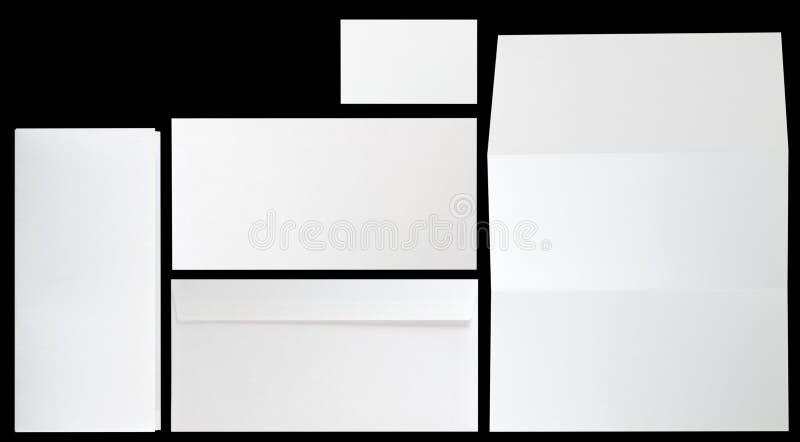 företags identitetsset vektor illustrationer