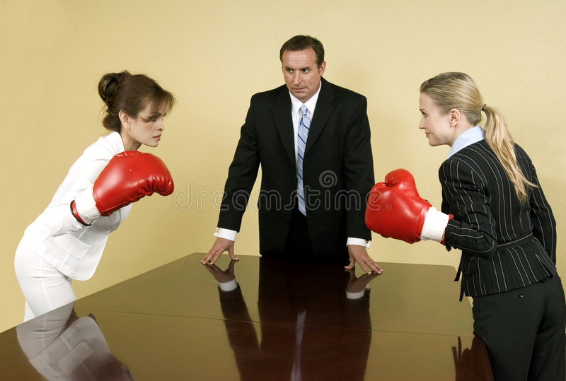 företags konkurrens royaltyfri foto