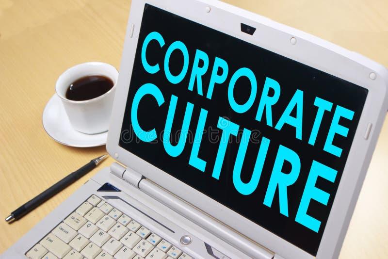 Företags kultur, Motivational begrepp för affärsordcitationstecken royaltyfri foto