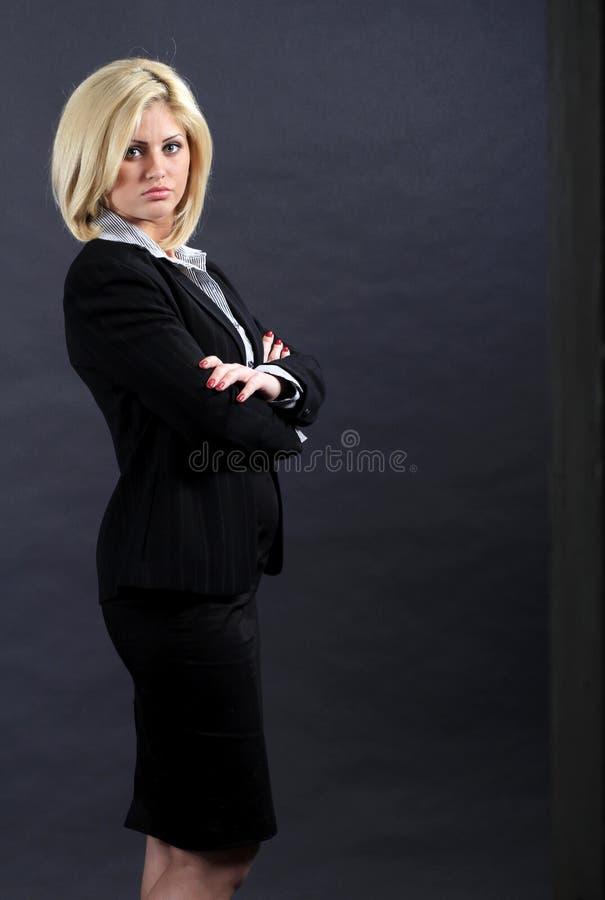 Företags kvinna royaltyfri fotografi