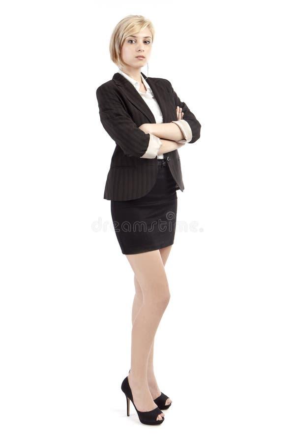 företags kvinna royaltyfri bild