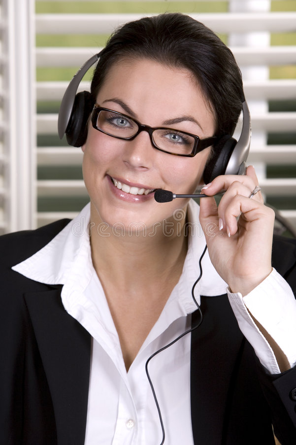 företags kvinna arkivfoto