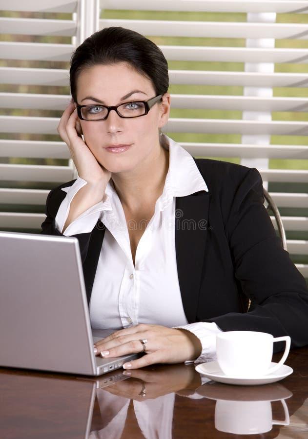 företags kvinna arkivbild