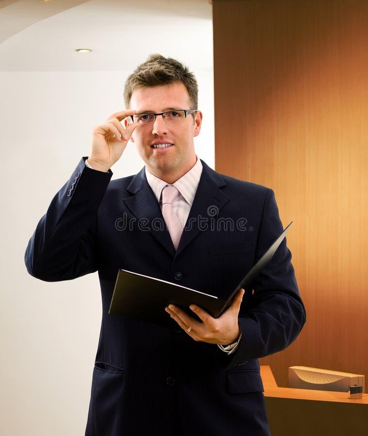 företags ledare royaltyfri bild