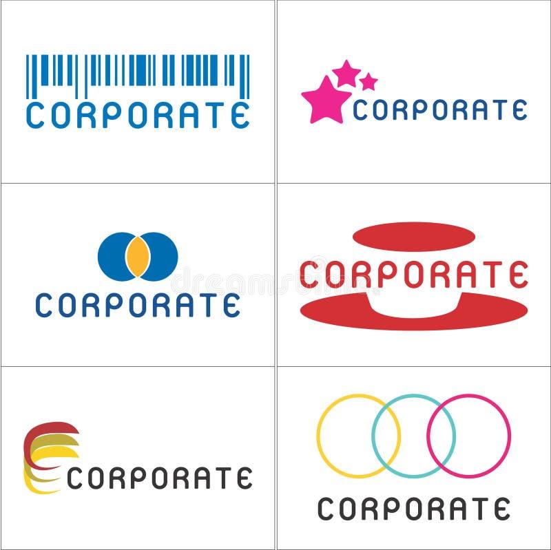 företags logoer vektor illustrationer
