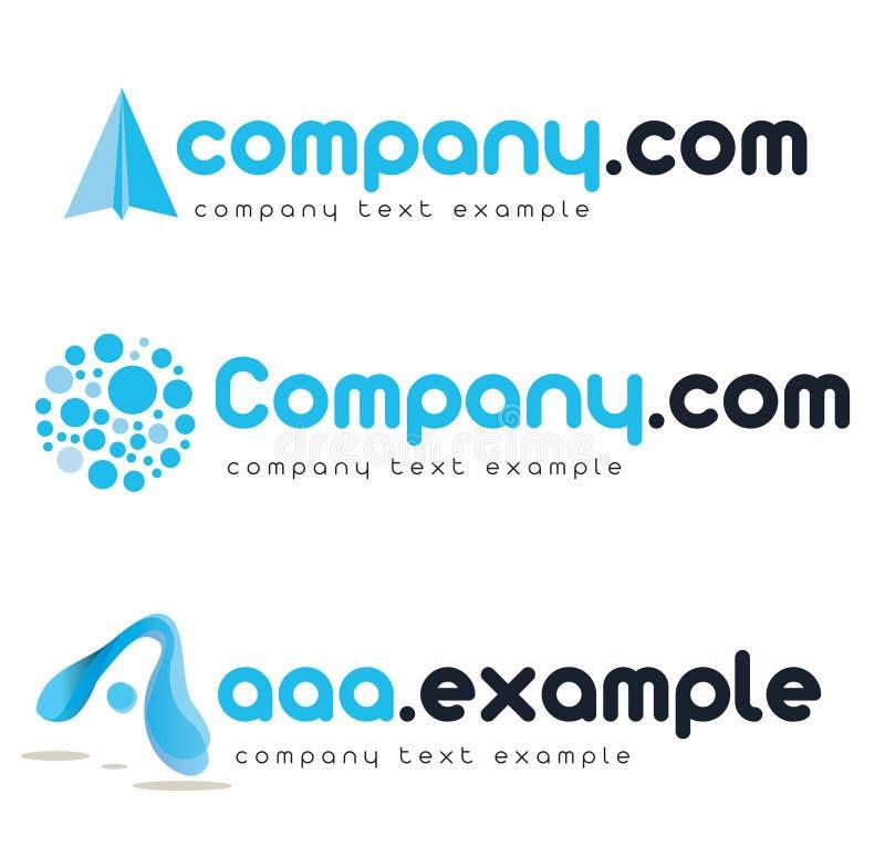 företags logovektor fotografering för bildbyråer