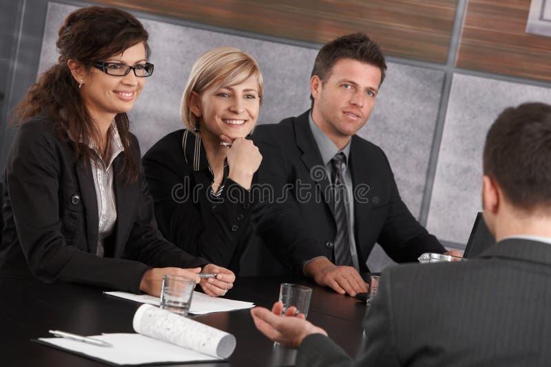 företags mötekontor royaltyfri bild