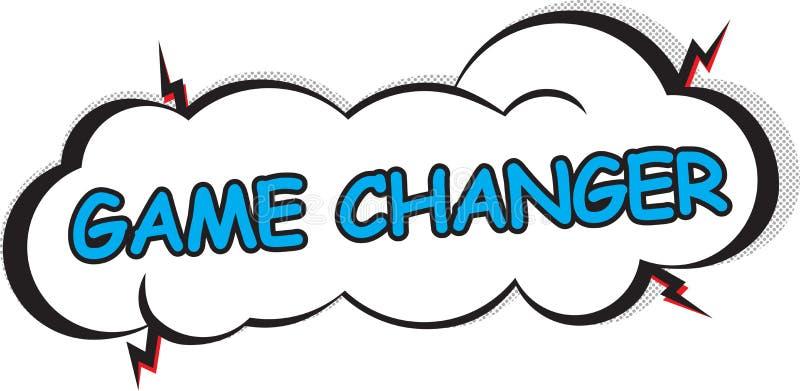Företags maktuttryck: Modig Changer stock illustrationer