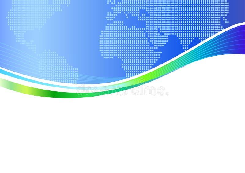 företags mall för bakgrundsaffär stock illustrationer