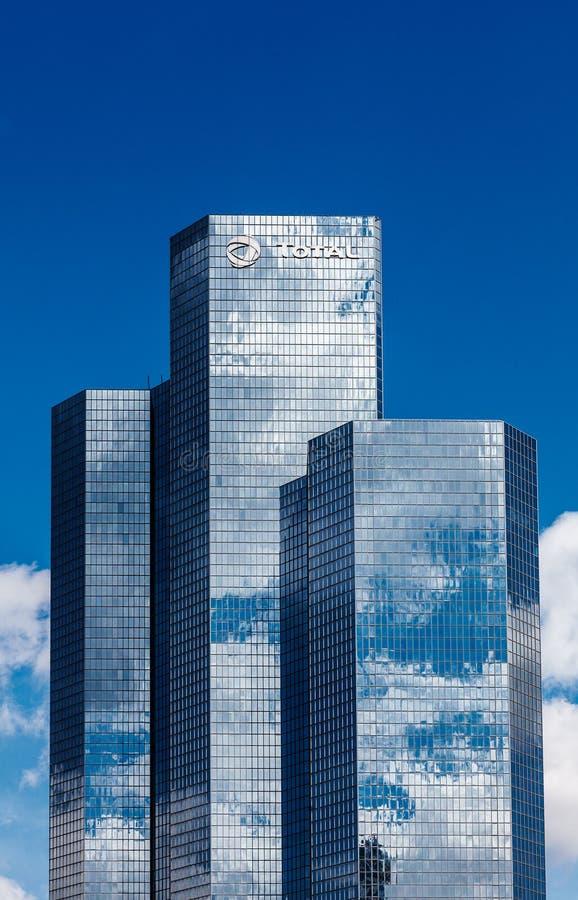 Företags skyskrapor arkivbild
