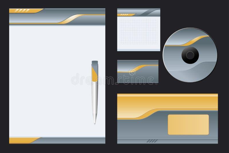 företags vektor för bakgrund stock illustrationer