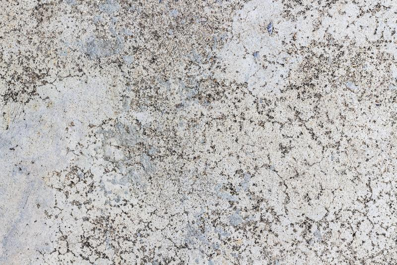 Förföll den gammalt cement förfallen väggen eller betong golvet royaltyfri bild