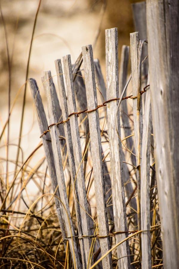 Förfallet staket fotografering för bildbyråer