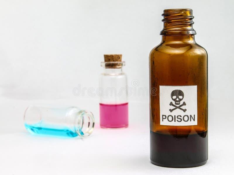 Förgifta - gift - metylalkohol - alkoholförgiftning fotografering för bildbyråer