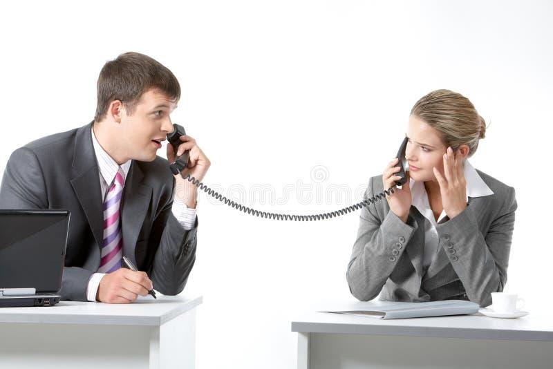 förhandlingar royaltyfria foton