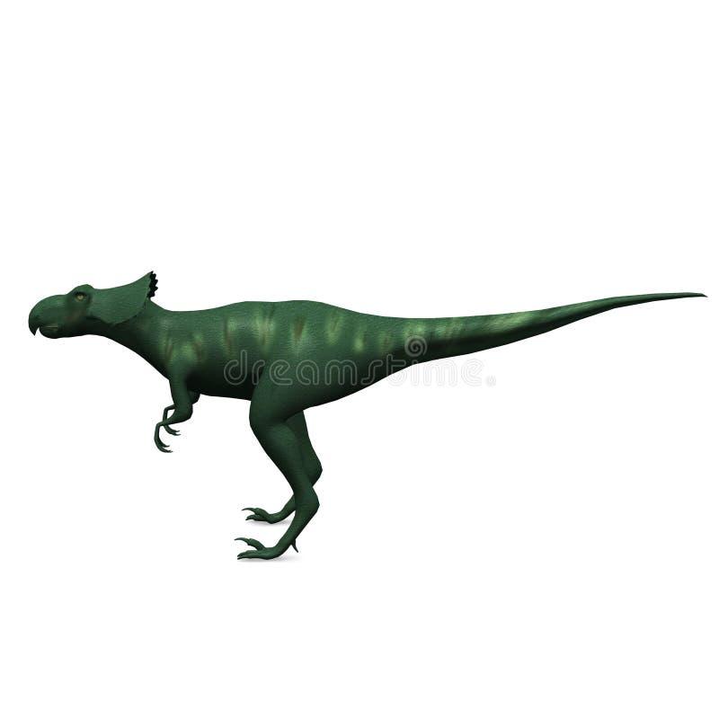 förhistorisk dinosaur stock illustrationer