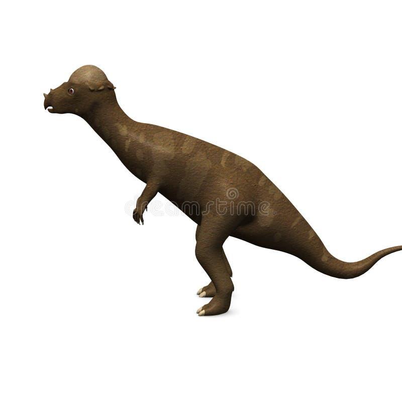 förhistorisk dinosaur vektor illustrationer