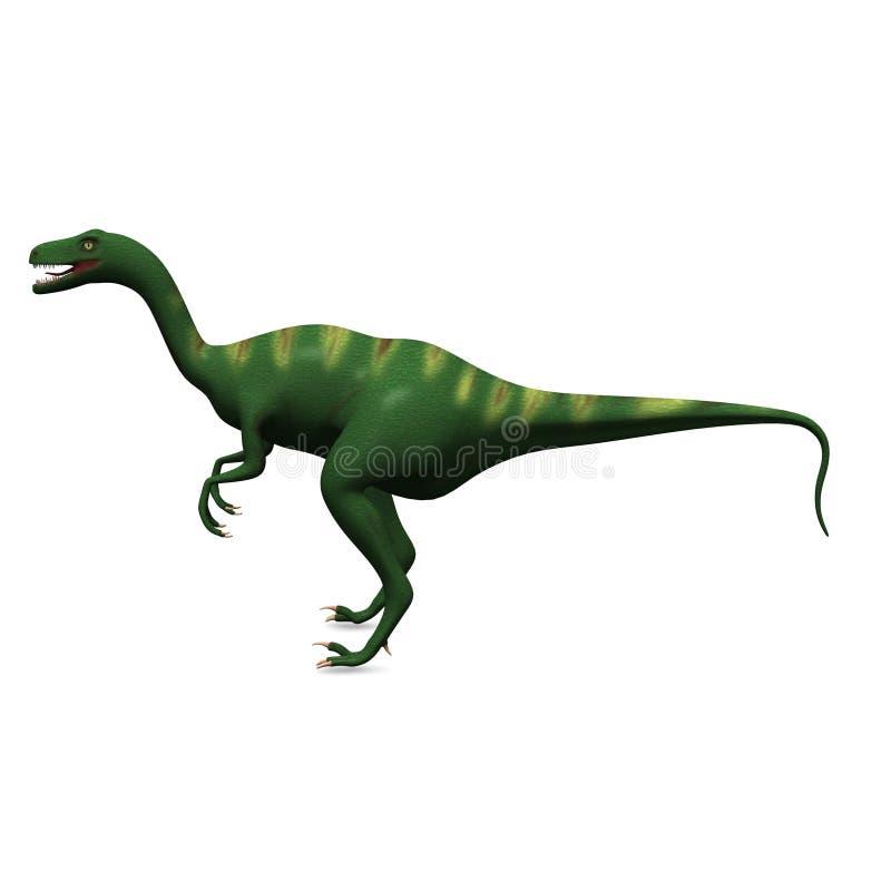 förhistorisk dinosaur royaltyfri illustrationer