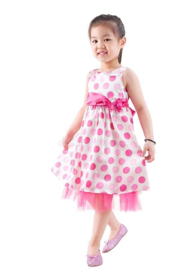Förkroppsliga mycket den asiatiska flickadansen arkivfoto