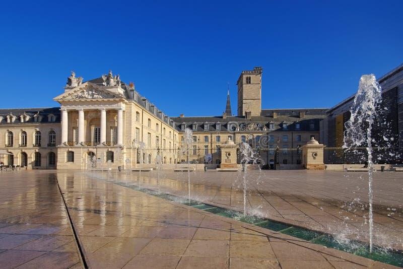 Förlägga de la Befrielse, Dijon i Frankrike arkivfoton