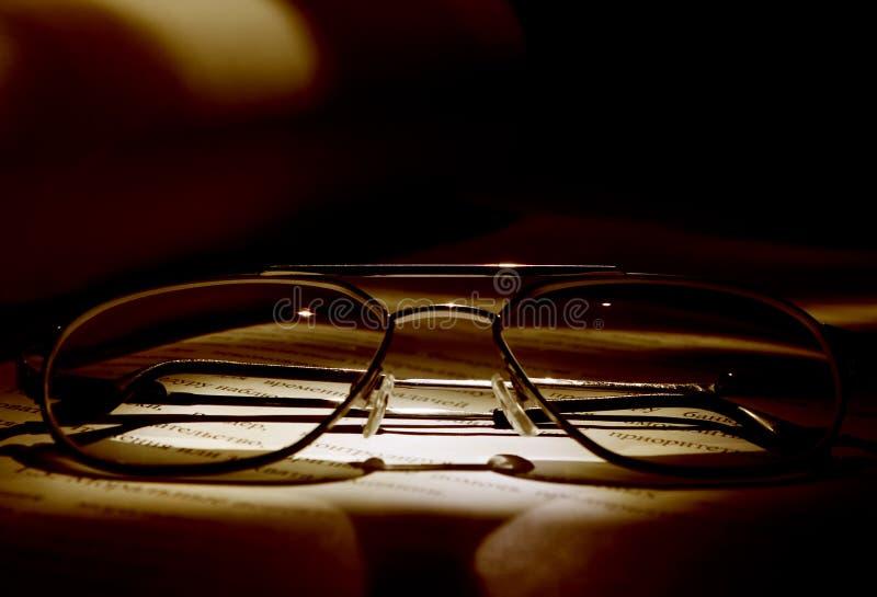 förlageexponeringsglas arkivfoto