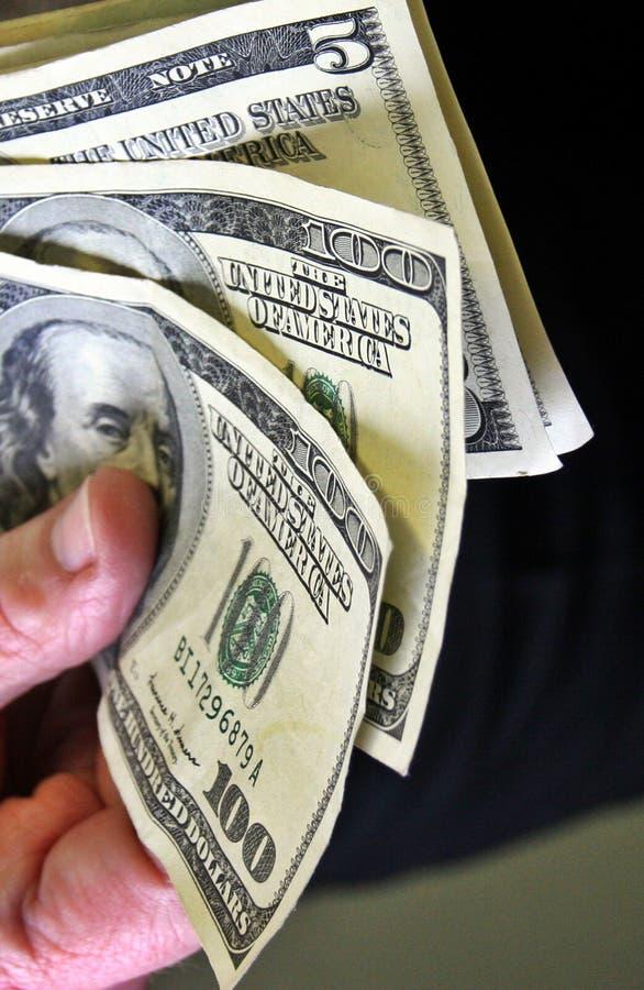 förlagehanterarepengar royaltyfri fotografi
