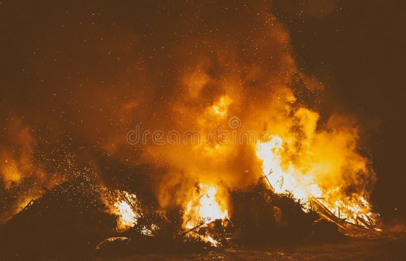 Förlorad förbränning royaltyfria bilder