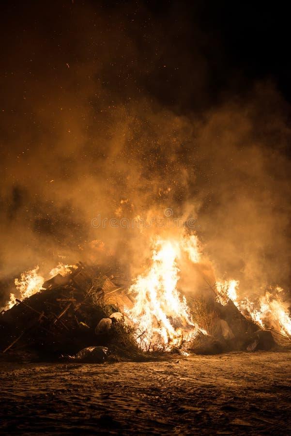 Förlorad förbränning royaltyfri bild