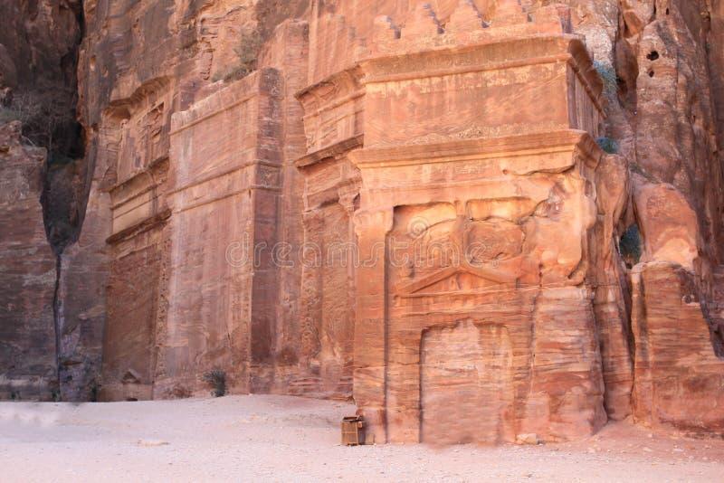 förlorad petra-rock för stad jordan royaltyfri bild