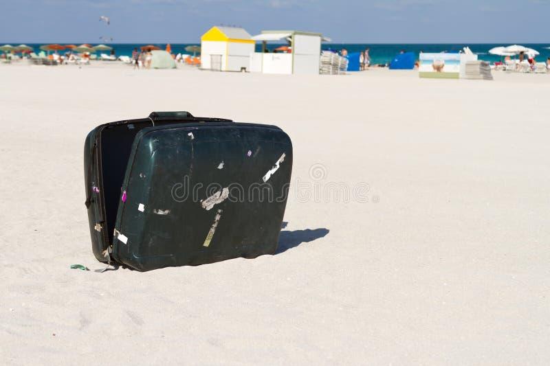 Forlorat Bagage Fotografering For Bildbyraer Bild Av Turism