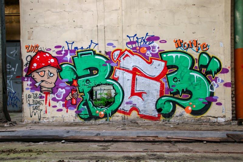 Förlorat förlägga garaget av järnvägen arkivfoto