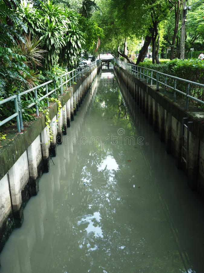 Förlorat vatten royaltyfri fotografi