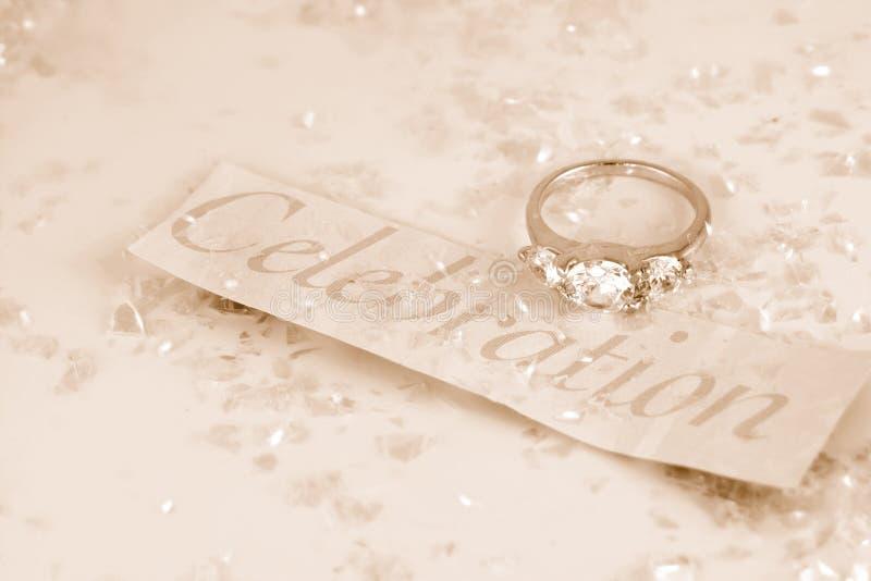 förlovningsring arkivfoton