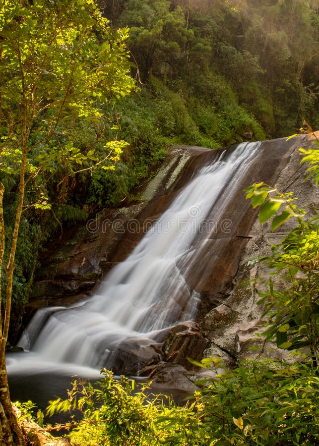Förnyande lägre del för Macumba vattenfall arkivfoton