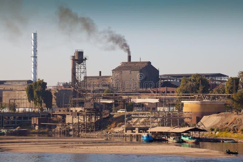 förorena för industri royaltyfri bild