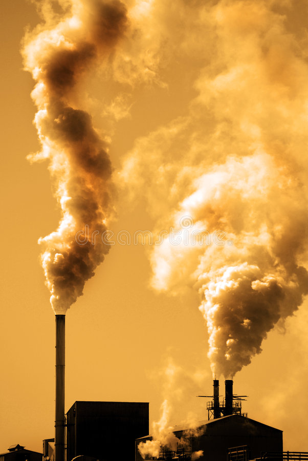förorening arkivbild