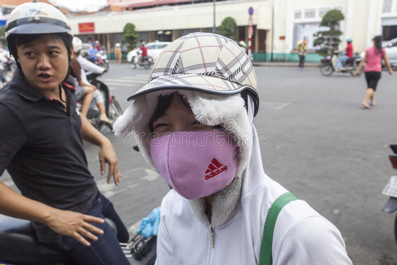 förorening för fabrik för luftbakgrund blå royaltyfri foto