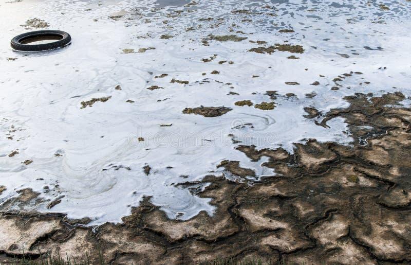 Förorening och miljö- degradering arkivfoto