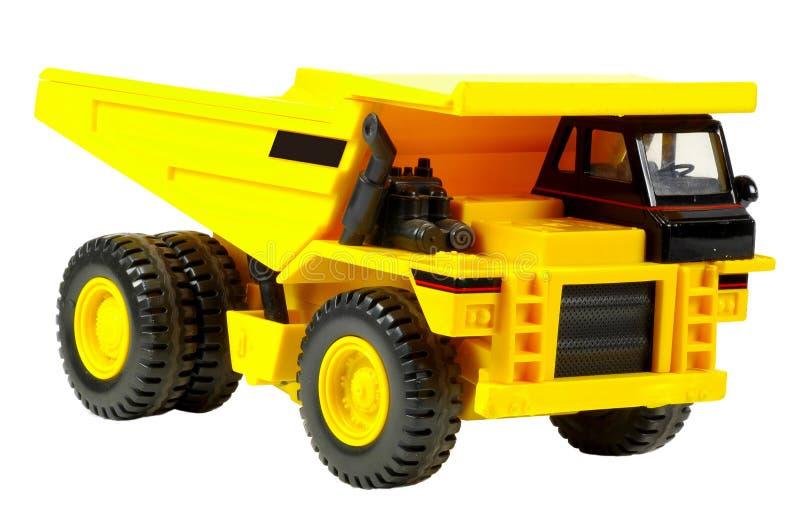 förrådsplatstoylastbil arkivfoto