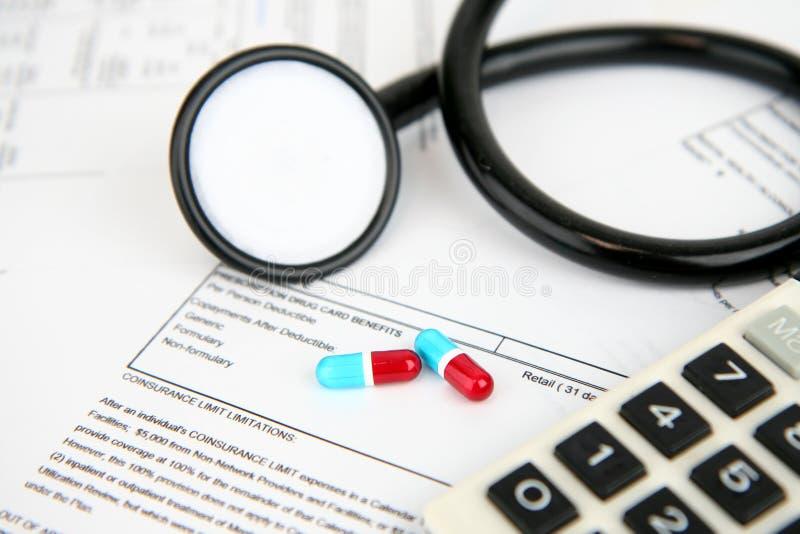 försäkringläkarundersökning arkivfoto